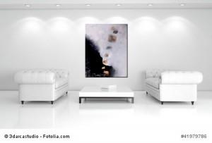 Abstrakt Bild Acryl Schmetterlinge 1 Cornelia Hauch