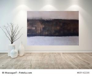 Acrylbild abstrakt Bereuen 10Cornelia Hauch