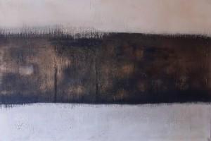 Acrylbild abstrakt Bereuen 2Cornelia Hauch
