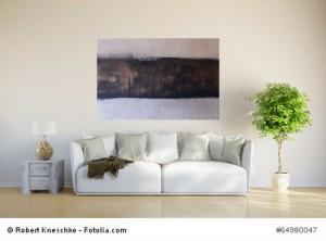 Acrylbild abstrakt Bereuen 5Cornelia Hauch