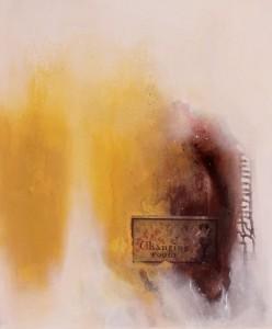 Acrylbild abstrakt Tapetenwechsel Cornelia Hauch