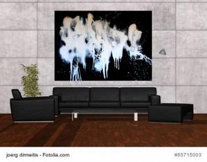 Acrylbild abstrakte Kunst Elfenflug 1Cornelia Hauch