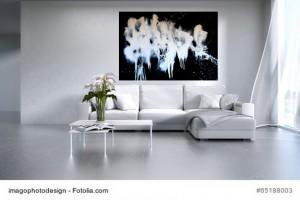 Acrylbild abstrakte Kunst Elfenflug 4Cornelia Hauch