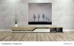 Abstrakte Kunst Einfach mal stehenbleiben 2Cornelia Hauch
