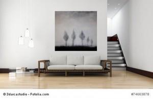 Abstrakte Kunst Einfach mal stehenbleiben 4Cornelia Hauch