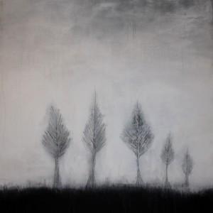 Abstrakte Kunst Einfach mal stehenbleiben Cornelia Hauch