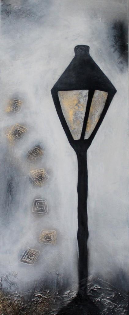 Abstrakte Kunst Laterne 3Cornelia Hauch