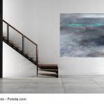 Abstrakte Kunst Verloren im Watt 4Cornelia Hauch