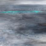 Abstrakte Kunst Verloren im Watt Cornelia Hauch