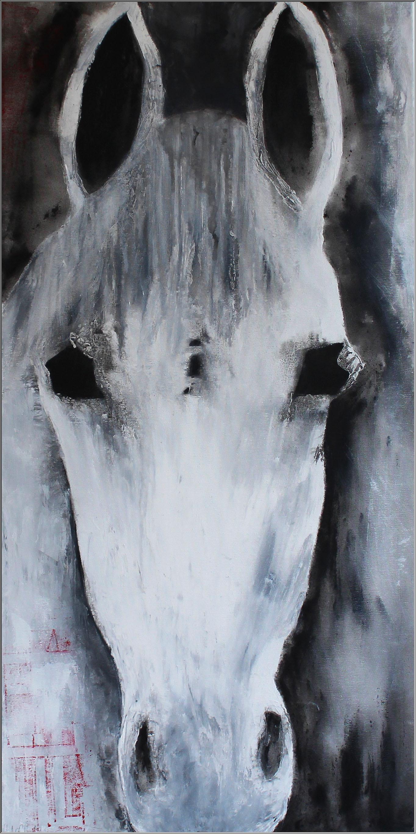 Abstrakte Kunst Pferd2Cornelia Hauch
